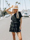 Cold Shoulder Dress in Black - Stitch And Feather