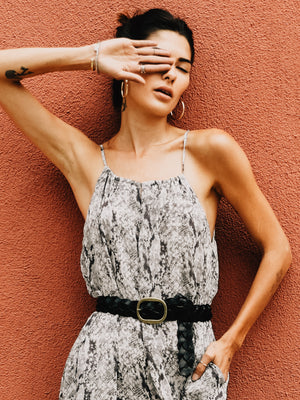 Python Playsuit - Stitch And Feather