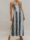 Snake Smock Maxi Dress - Stitch And Feather