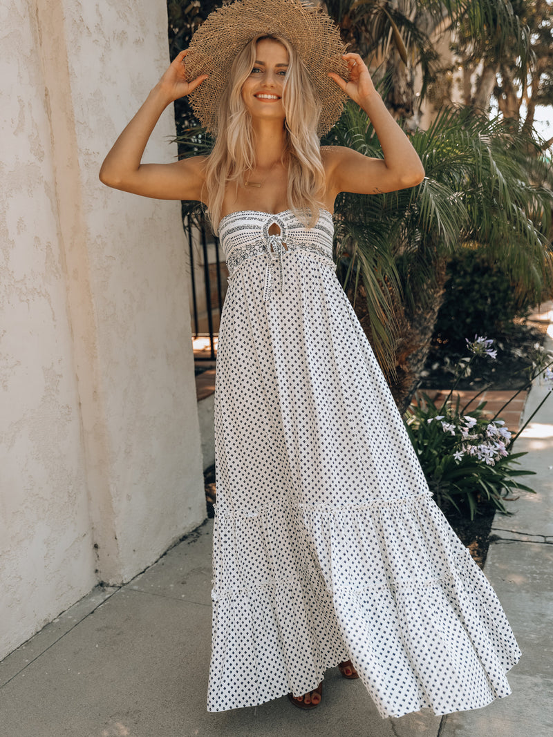 Coastal Queen Maxi Dress - Stitch And Feather