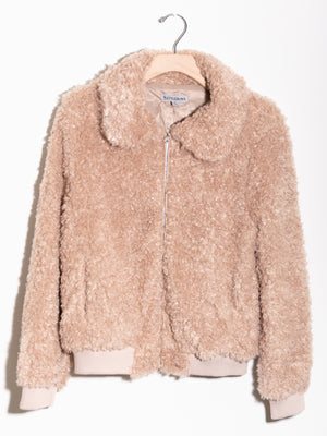 Bad To The Bones Fur Jacket - Stitch And Feather
