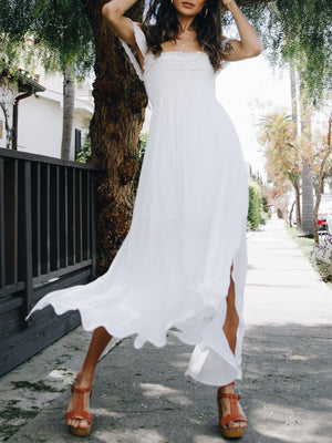 St. Tropez Smock Maxi - Stitch And Feather