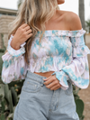 Cotton Candy Crop Top - Stitch And Feather