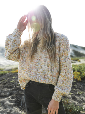 Ray Of Sunshine Sweater - Stitch And Feather
