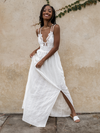 Eva Eyelet Maxi Dress - Stitch And Feather
