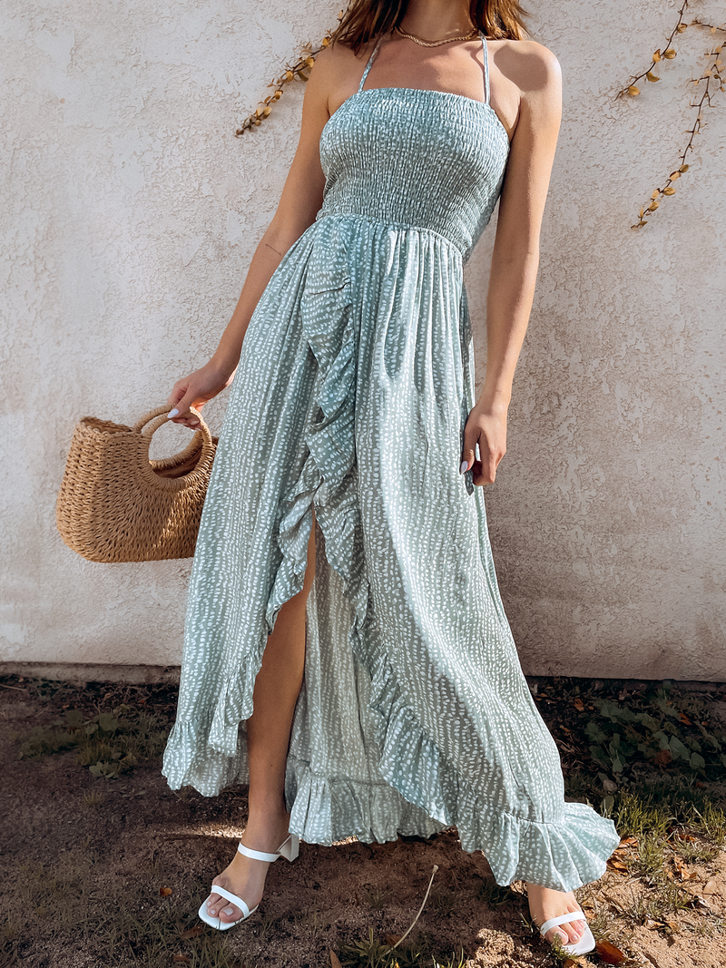 Havana Island Maxi Dress - Stitch And Feather