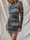 Tie Dying For You Mini Dress - Stitch And Feather