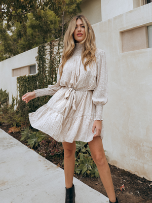 Arianna Mini Dress - Stitch And Feather