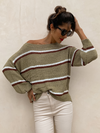 Through the Woods Stripe Sweater - Stitch And Feather