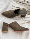Night Moves Mule in Olive - Stitch And Feather