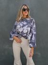 WFH Tie Dye Pullover - Stitch And Feather