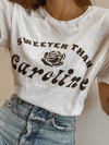 Sweeter Than Caroline Tee - Stitch And Feather