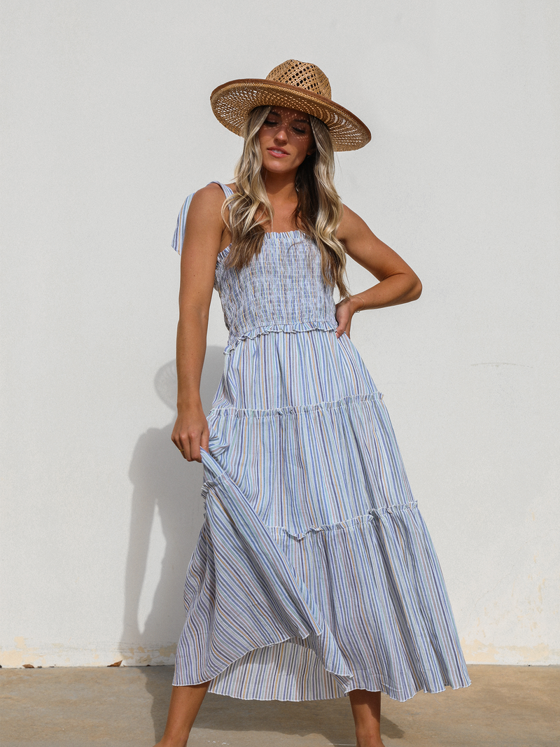 Havasu Falls Midi Dress - Stitch And Feather