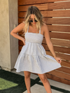 Positano Tiered Mini Dress - Stitch And Feather