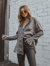 Moon River Satin Button Up - Stitch And Feather