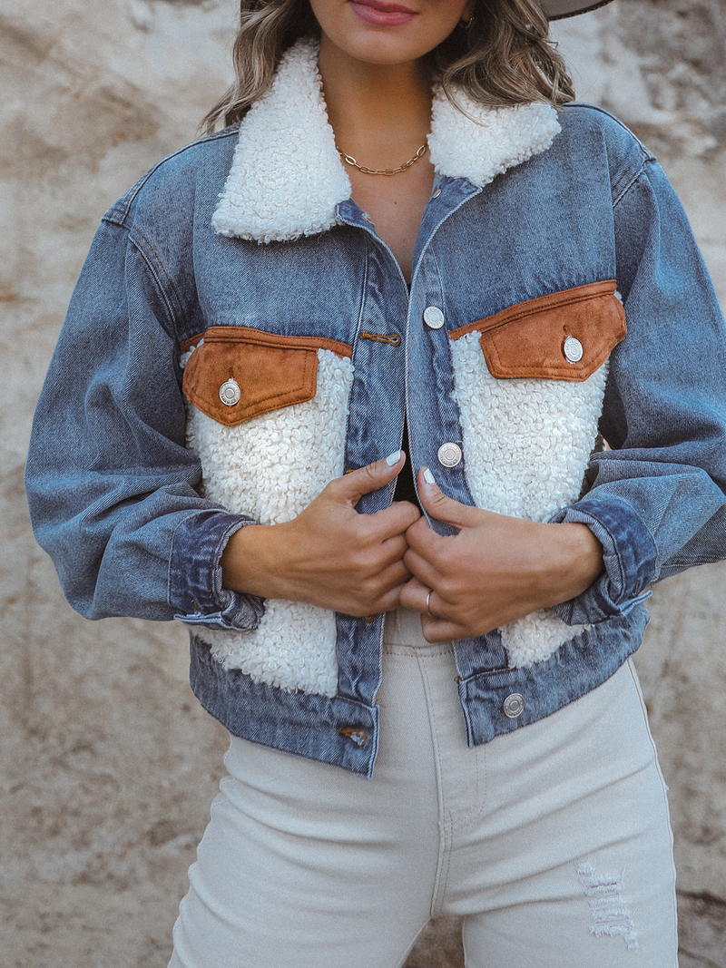 Ryland Denim Jacket - Stitch And Feather
