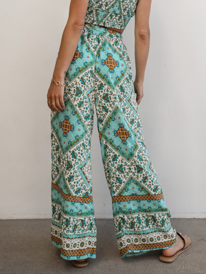 Cape Town Wide Leg Pants - Stitch And Feather