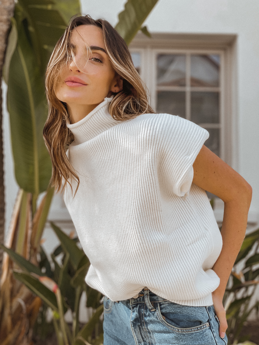 Vanilla Bean Knit Top - Stitch And Feather