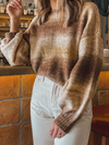 Put it in Neutral Knit Sweater - Stitch And Feather