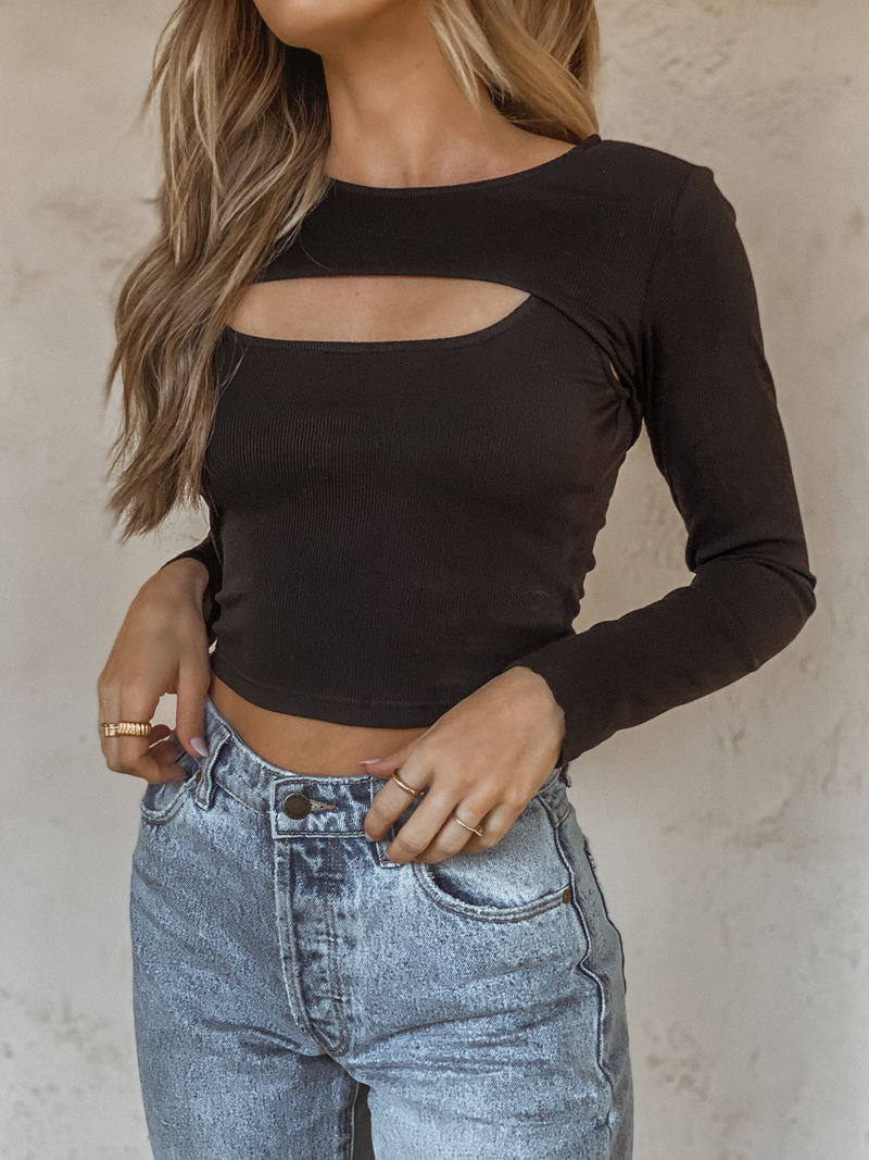 Ribbed Crop Top Set - Stitch And Feather