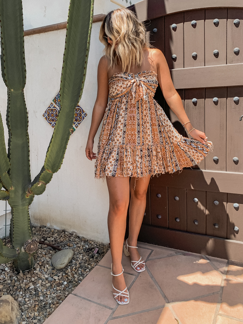 Cleo Mini Dress - Stitch And Feather