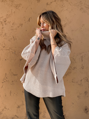 Soft Tunic Sweater - Stitch And Feather