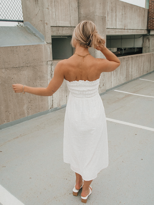 Sweet Escape Midi Dress - Stitch And Feather