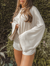 Easy Living Hoodie in Natural - Stitch And Feather