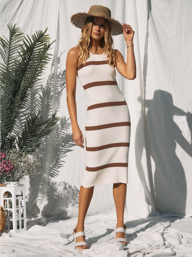 Haven Midi Dress - Stitch And Feather