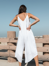 Shea Jumpsuit in Off White - Stitch And Feather