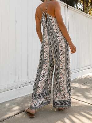 Botanical Jumpsuit - Stitch And Feather