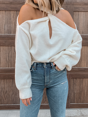 In the Loop Knit Sweater - Stitch And Feather