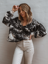 French Tie Dye Pullover - Stitch And Feather