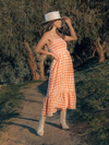Amalfi Coast Midi Dress - Stitch And Feather