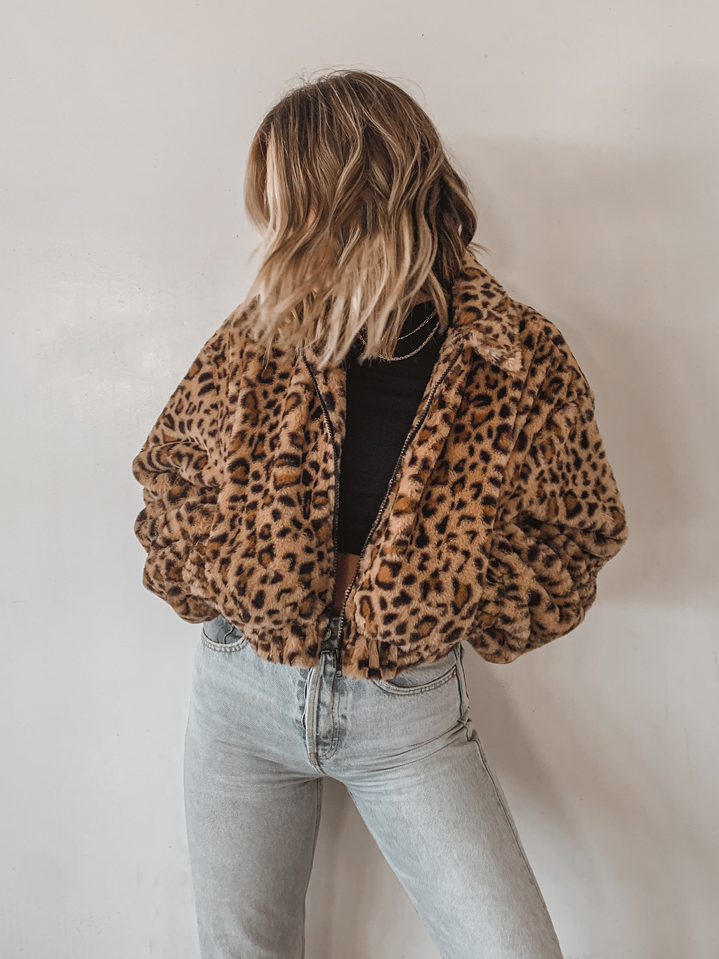 Hunt or Be Hunted Fur Bomber - Stitch And Feather