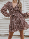 Spotted On The Town Mini Dress - Stitch And Feather