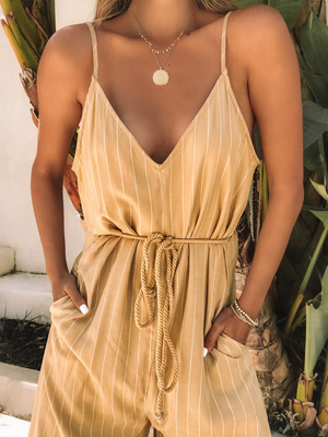 Lanai Avenue Jumpsuit - Stitch And Feather