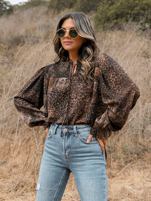 Into the Jungle Blouse - Stitch And Feather