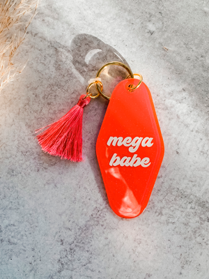 Mega Babe Keychain - Stitch And Feather