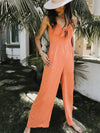 Creamsicle Tie Knot Jumpsuit - Stitch And Feather