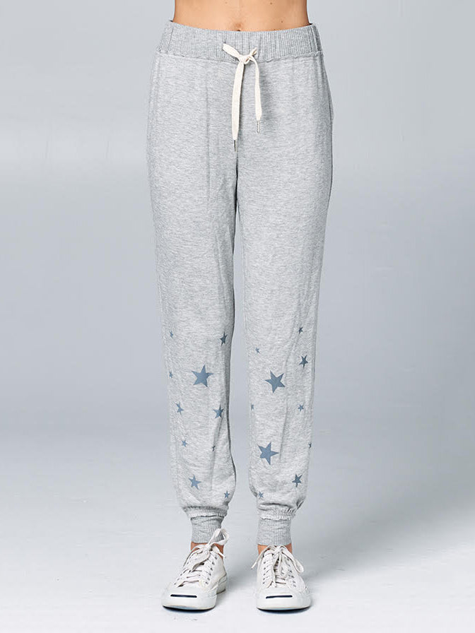 Star Terry Pants - Stitch And Feather