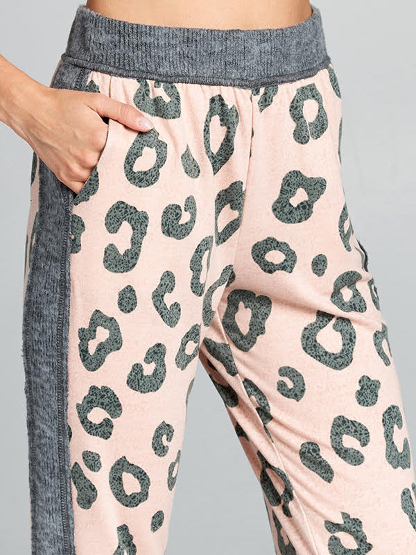 Desert Daze Leopard Joggers - Stitch And Feather