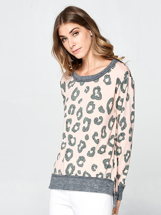 Desert Daze Leopard Sweater