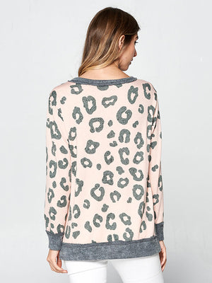 Desert Daze Leopard Sweater - Stitch And Feather