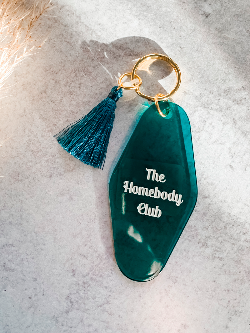 HomeBody Club Keychain - Stitch And Feather