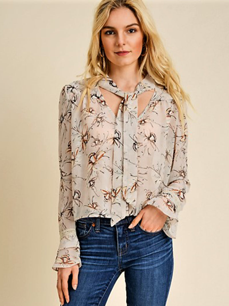 Lily Button-Down Blouse
