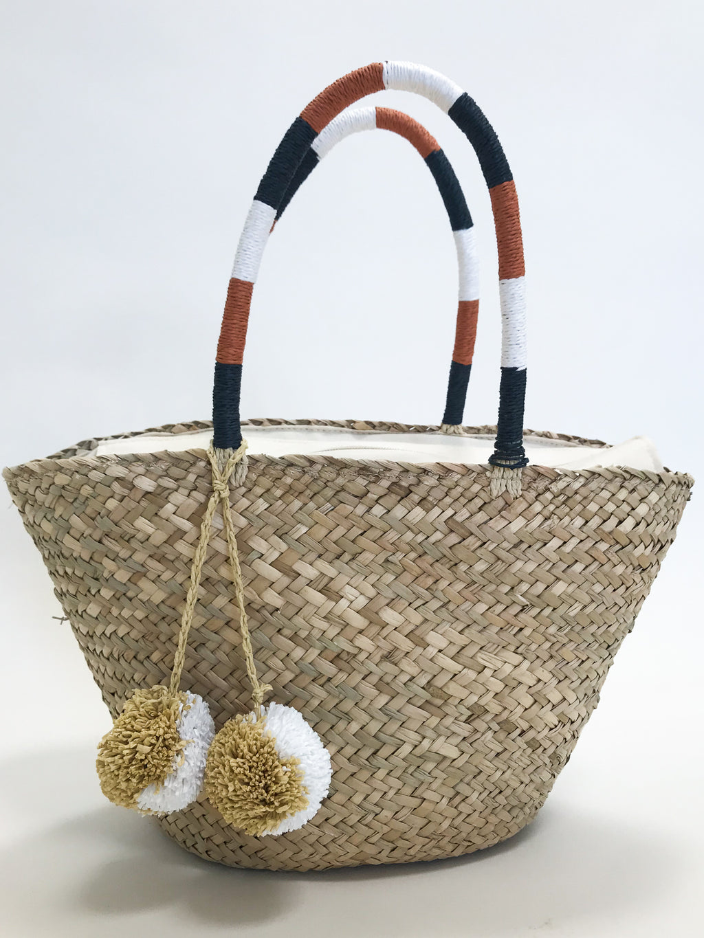 Sandbar Woven Bag - Stitch And Feather