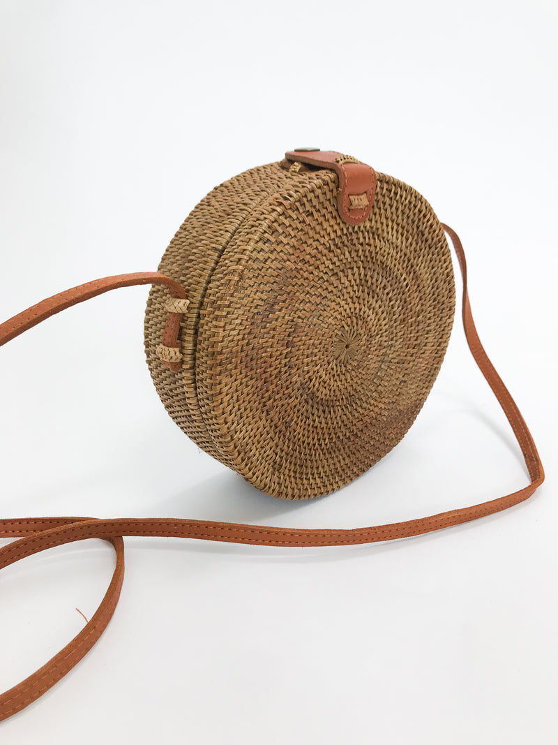 Bagus Rattan Cross Body