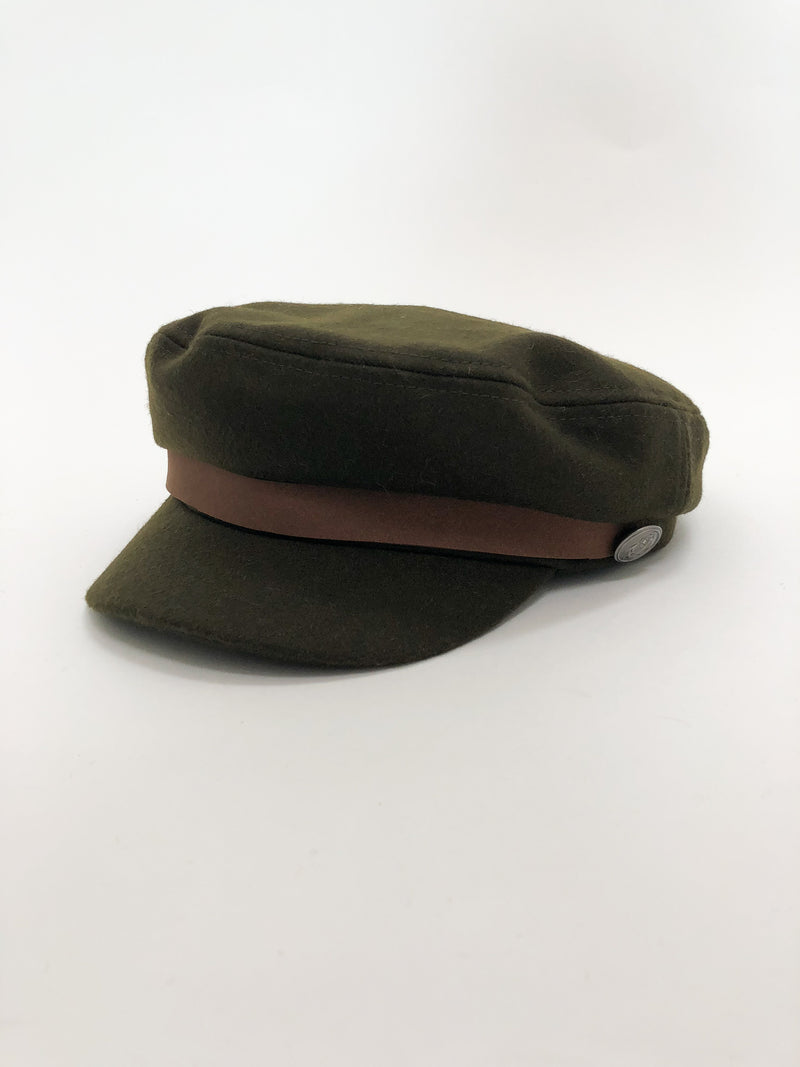 Olive Greek Fisherman Hat