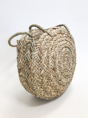 Luna Morocco Circle Bag - Stitch And Feather